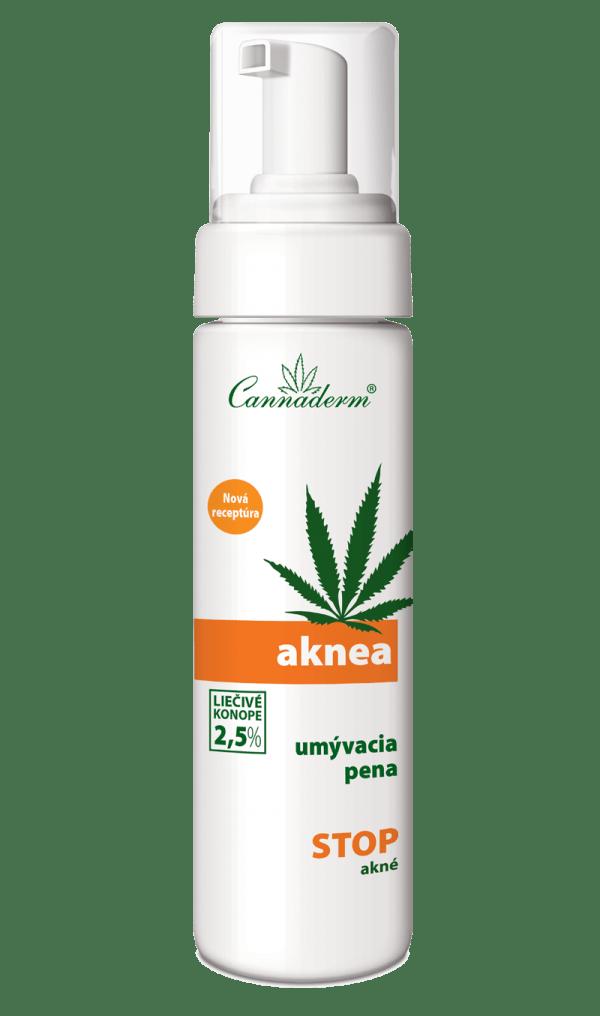 Cannaderm Aknea – umývacia pena na akné 180 ml