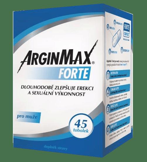 ArginMax FORTE pre mužov 45 tob.
