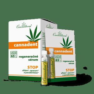 Cannaderm Cannadent – regeneračné sérum na afty a opary 10 x 1,5 ml