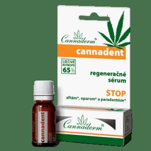 Cannaderm Cannadent – regeneračné sérum na afty a opary 5 ml