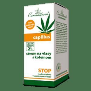 Cannaderm Capillus – vlasové sérum s kofeínom NEW 40 m