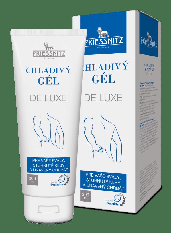 Priessnitz® chladivý gél DE LUXE 200 ml