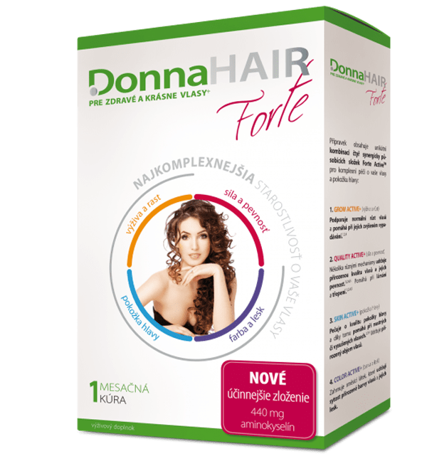 Donna HAIR FORTE 1mes. kúra 30 tob.