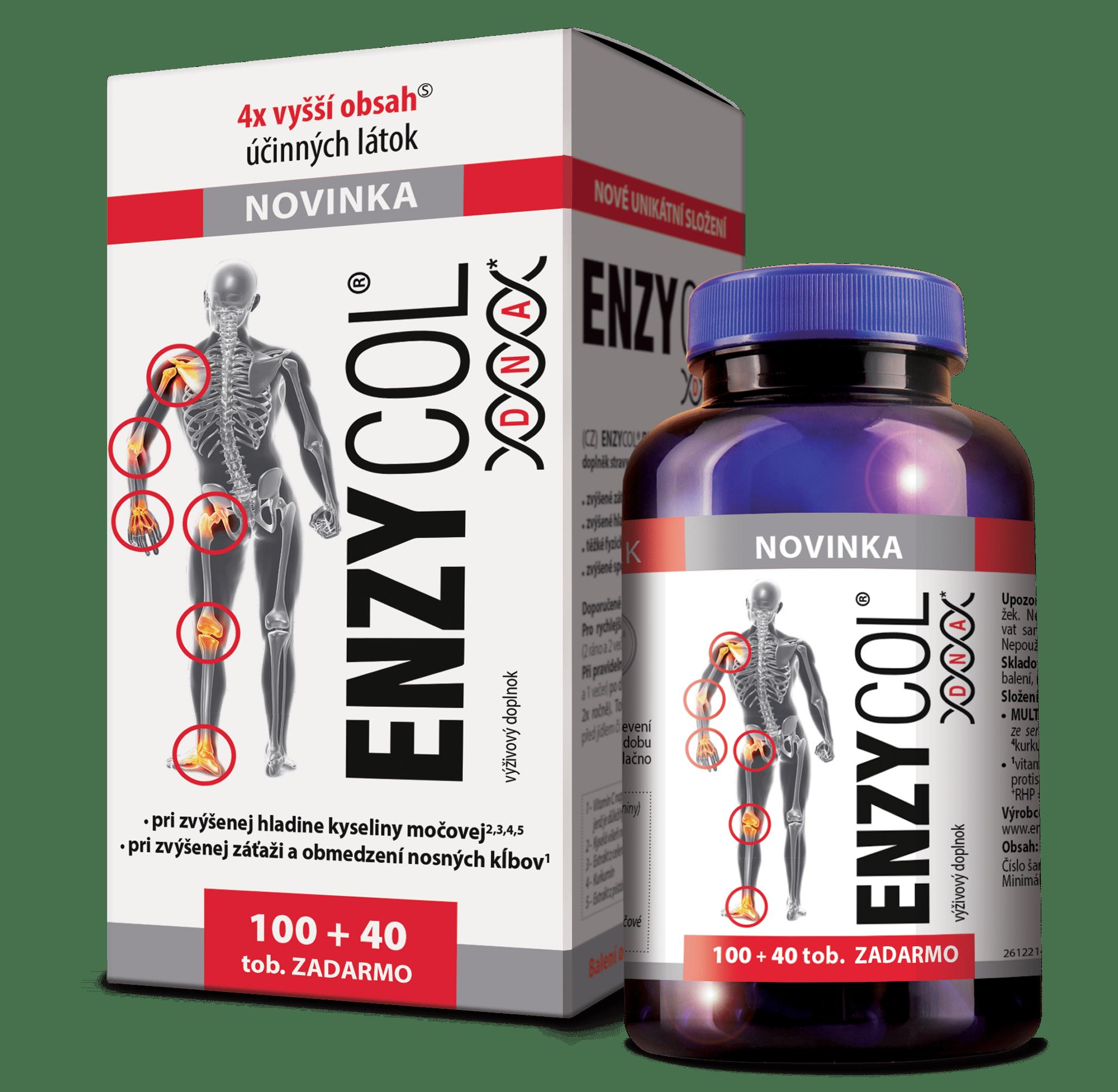 ENZYCOL DNA 100+40 tob. ZADARMO
