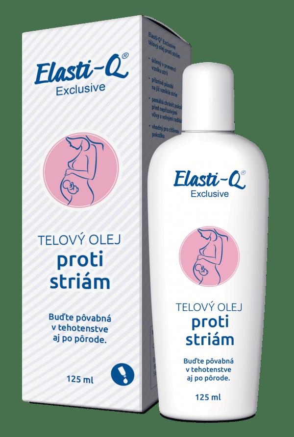 Elasti-Q Exclusive telový olej proti striám 125 ml