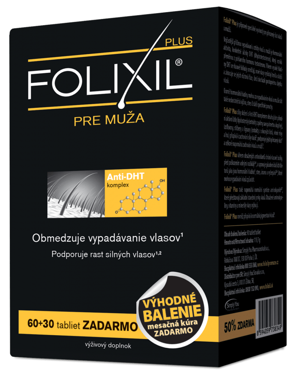 Folixil Plus pre mužov 60 tbl.