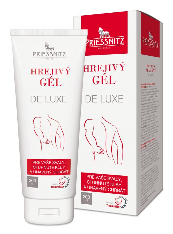 Priessnitz® hrejivý gél DE LUXE 200 ml