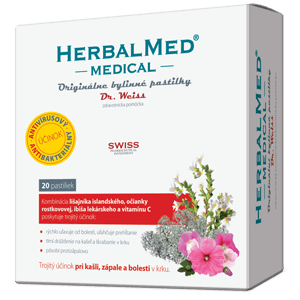 HerbalMed MEDICAL – Dr.Weiss 20 pastiliek