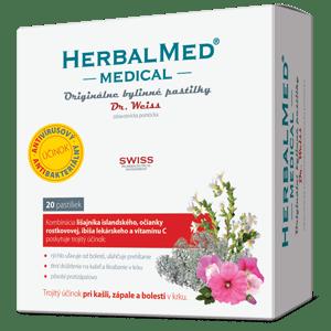 HerbalMed MEDICAL – Dr.Weiss 20 pastiliek