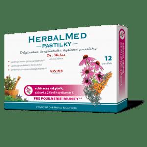 Herbalmed pastilky – echin., rakyt. +vit. C 12