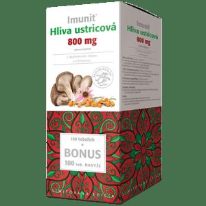 Imunit Hliva ustric. 800mg s rakytn. a echin. 100+100 tob.