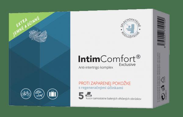 IntimComfort – Vlhčené obrúsky 5 ks