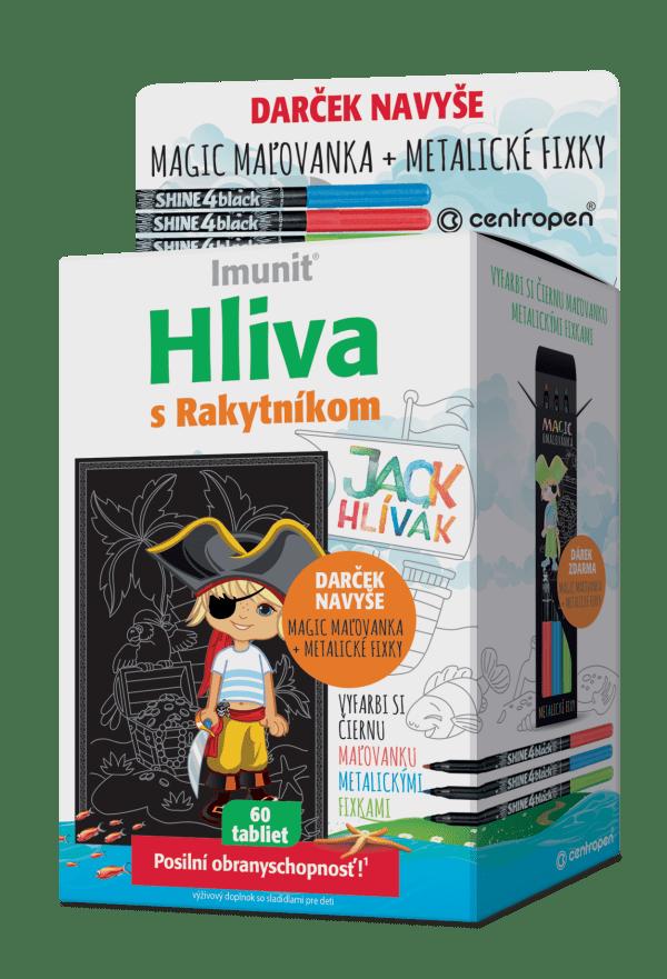 Hliva pre deti JACK HLÍVÁK 60 tbl.+ magic maľovanka