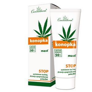 Cannaderm Konopka – premasťujúca masť 75 g