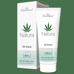 Cannaderm Natura – celodenný 24 krém na normálnu pleť 75 g