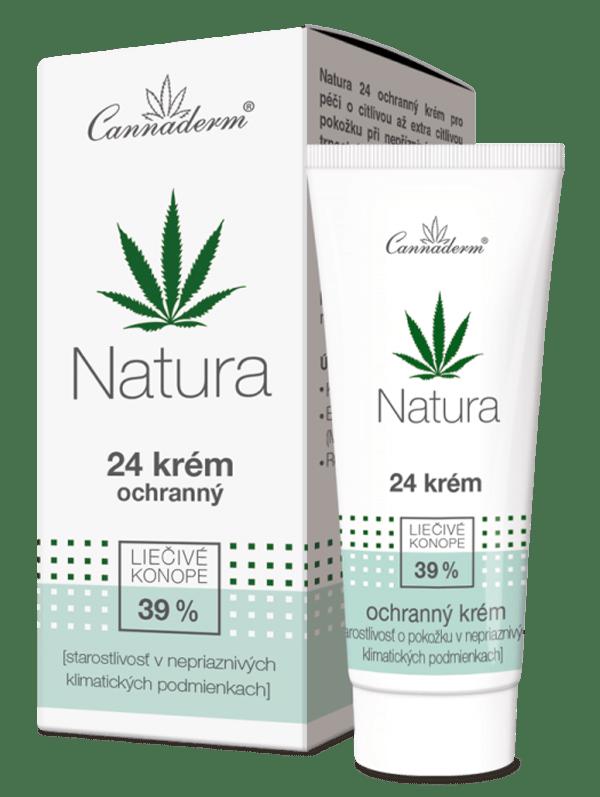 Cannaderm Natura – 24 krém ochranný 50 g
