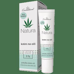 Cannaderm Natura – krém na oči 15 ml