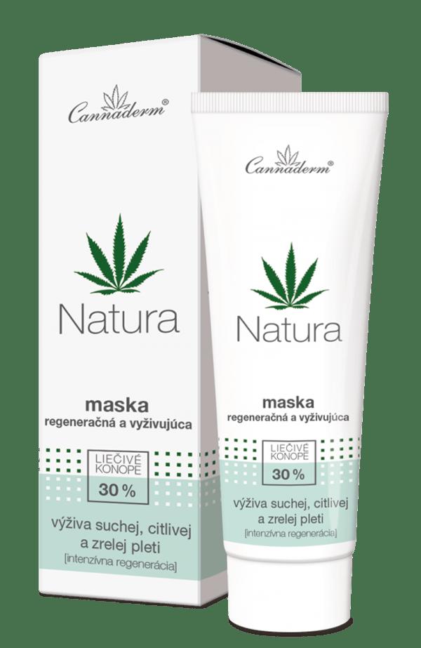 Cannaderm Natura – vyživujúca maska na suchú a zrelú pleť 75 g