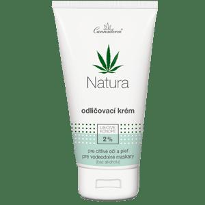 Cannaderm Natura – odličovací krém 150 ml