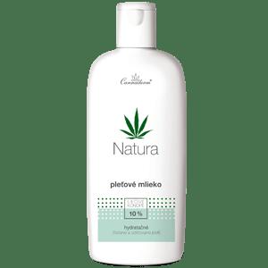 Cannaderm Natura – hydratačné pleťové mlieko 200 ml
