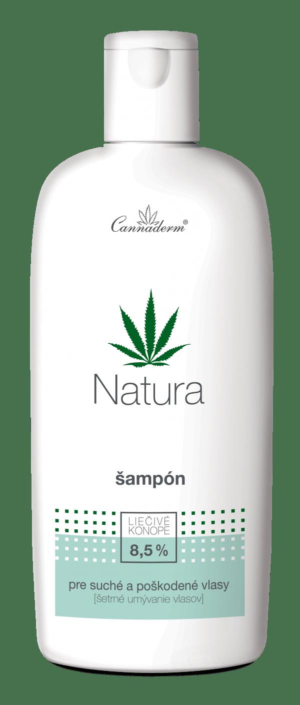 Cannaderm Natura – šampón na suché a poškodené vlasy