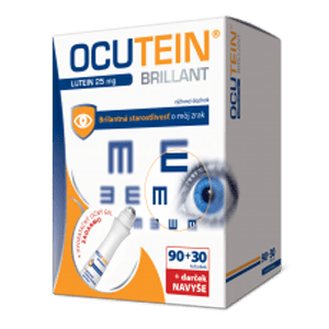 Ocutein Brillant Lutein 25 mg – DA VINCI 90+30 tob.+ darček