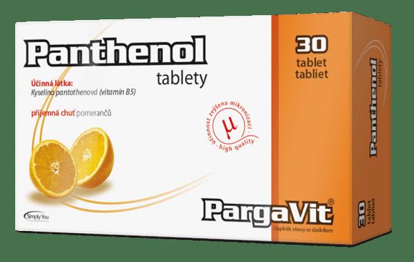 PargaVit Panthenol 30 tbl.