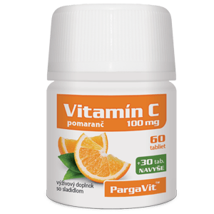 PargaVit Vitamín C pomaranč 90 tbl.