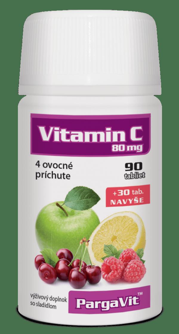PargaVit Vitamín C mix 120 tbl.