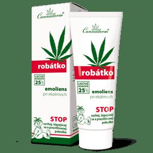 Cannaderm Robátko Emoliens – premasťujúci krém pri atopii 75 g