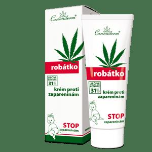 Cannaderm Robátko – krém proti zapareninám 75 g