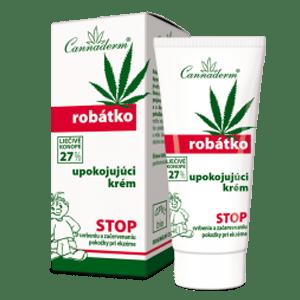 Cannaderm Robátko – upokojujúci krém proti svrbeniu 50 g
