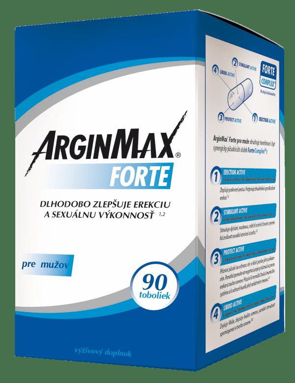 ArginMax FORTE pre mužov 90 tob.