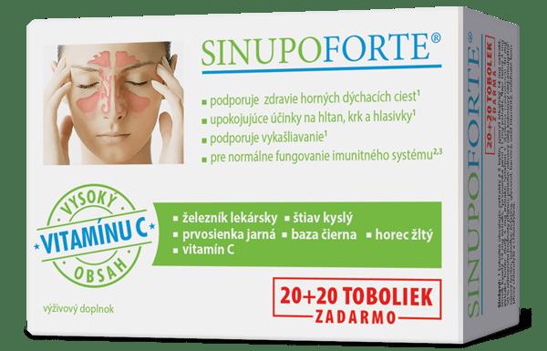 SINUPO Forte 20 tob.
