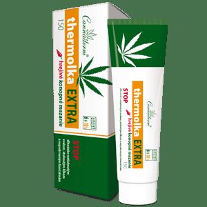 Cannaderm Thermolka EXTRA – hrejivé konopné mazanie 150 ml