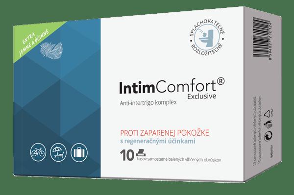 IntimComfort vlhčené obrúsky 10 ks