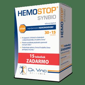 Hemostop SYNBIO – Da Vinci 30+15 tob.zadarmo