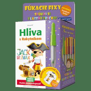 Hliva pre deti JACK HLÍVÁK 60 tbl.+ pastel. fúkacie fixy