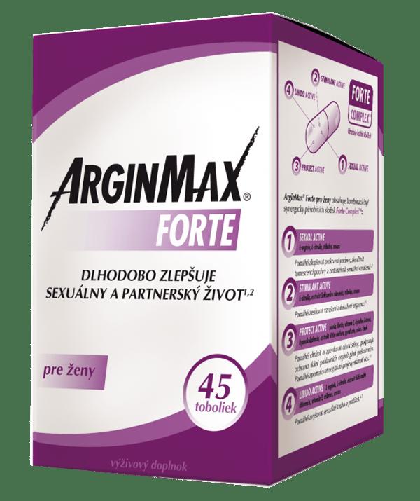 ArginMax FORTE pre ženy 45 tob.