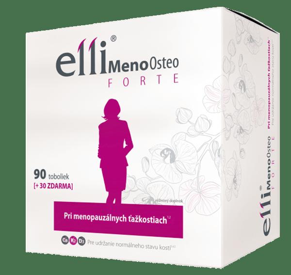 Elli MenoOsteo FORTE 90+30 tob. ZADARMO