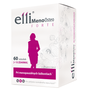 Elli MenoOsteo FORTE 60+15 tob. ZADARMO