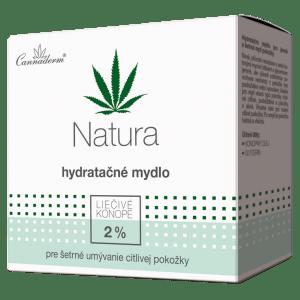 Cannaderm Natura – hydratačné mydlo 100 g