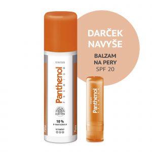 Panthenol 10% SWISS PREMIUM pena 125+25 ml ZADARMO