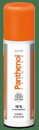 Panthenol 10% SWISS PREMIUM pena 10% 125+25 ml ZADARMO