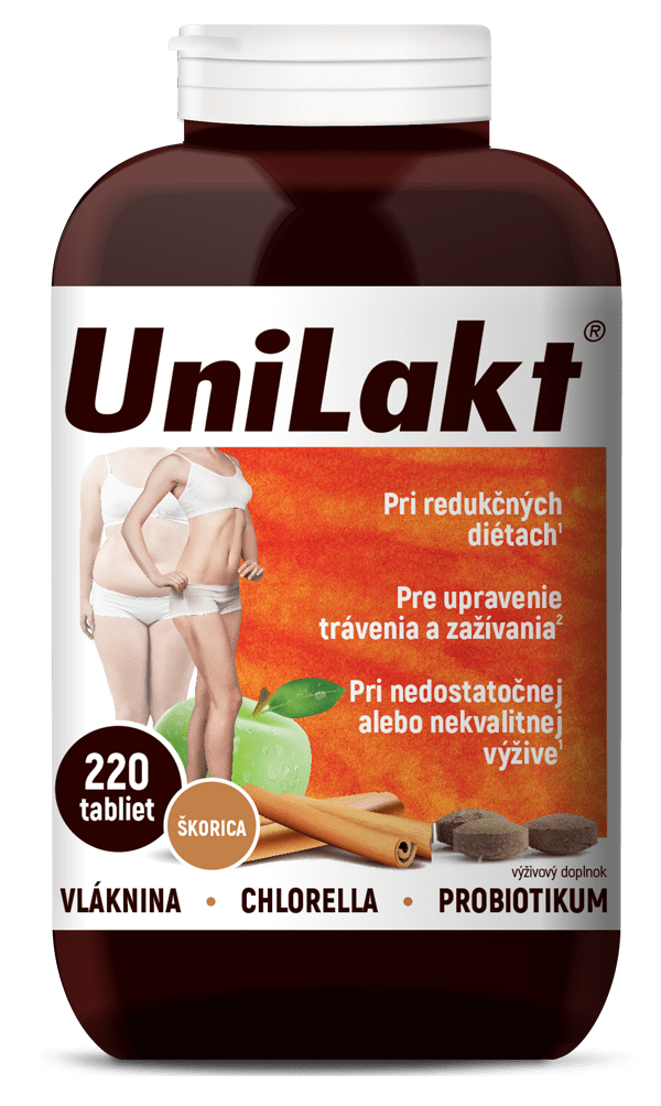 UniLakt škorica 220 tbl. (150 g)