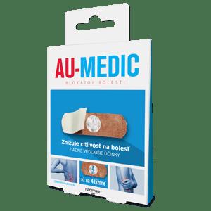 AU-MEDIC blokátor bolesti 4 ks