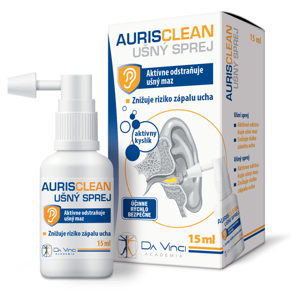 AurisClean – ušné kvapky Da Vinci Academia 15 ml