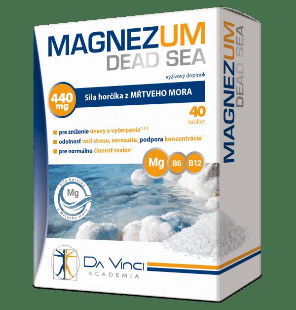 Magnezum Dead Sea Da Vinci Academia – 40 tbl.