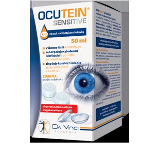 OCUTEIN® SENSITIVE roztok na kontaktné šošovky 50ml