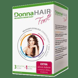Donna HAIR FORTE 4 mesačná kúra 90 + 30 tob. zadarmo